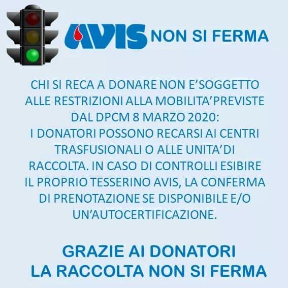 Avis Donazione