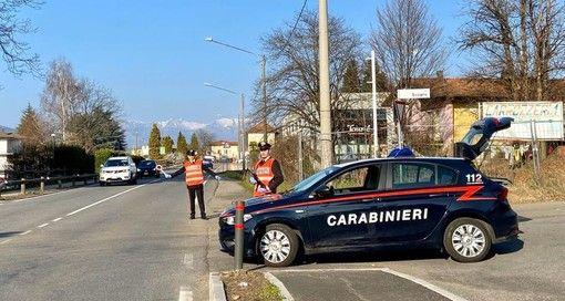 Lavena Ponte Tresa: controlli dei Carabinieri scattano quattro denunce