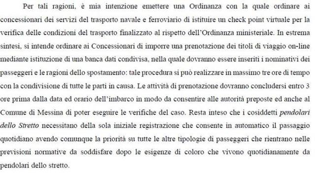 richiesta di Cateno De Luca
