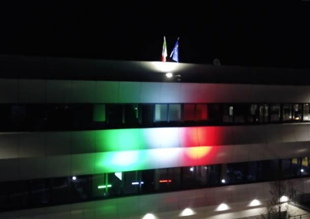 Brunello: la Elmec si illumina del tricolore