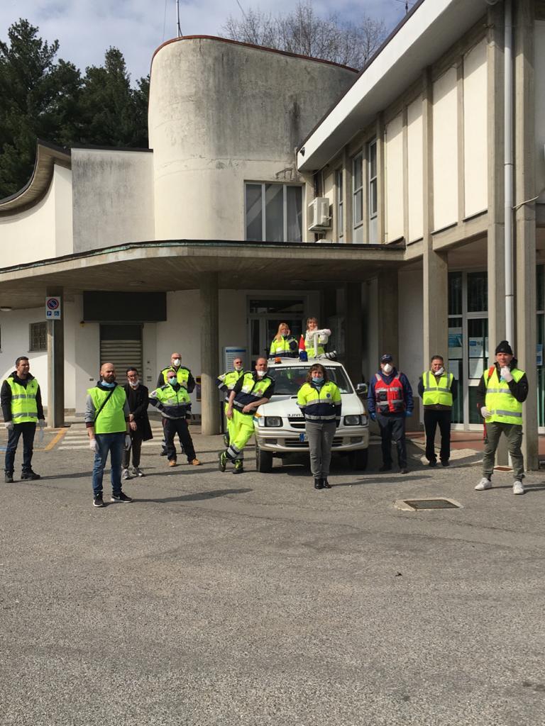 volontari protezione civile oggiona santo stefano