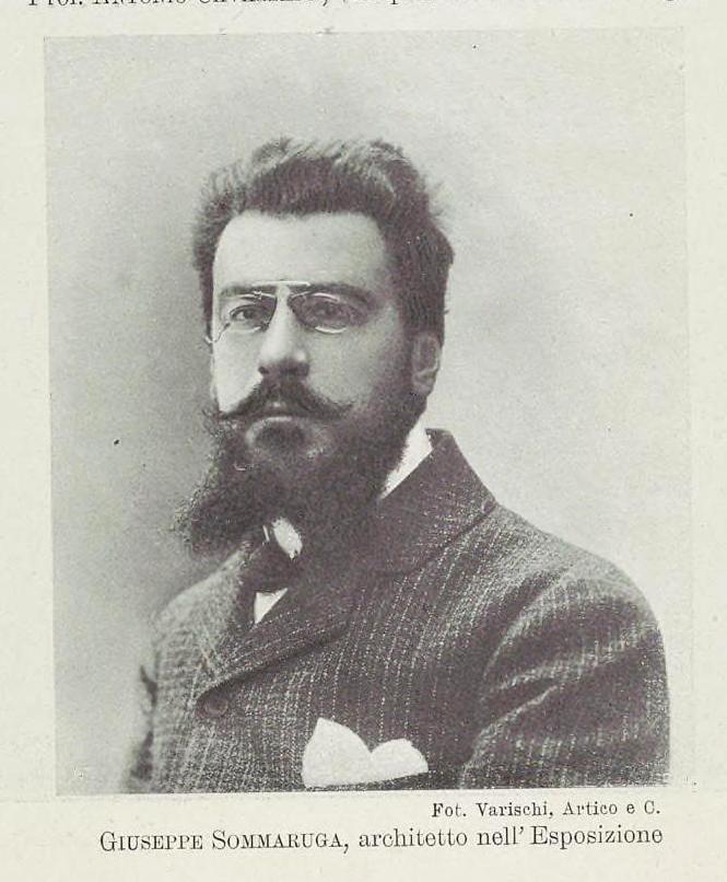 Arch. Giuseppe Sommaruga 1867 1917